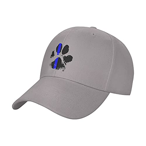 vdcucc K9 Thin Blue Line Hat Sun Hats Comfortable Adjustable Baseball Cap for Men Women Adults