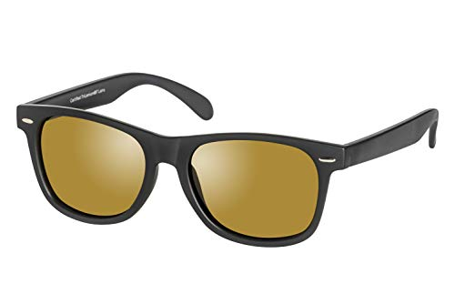 Eagle Eyes Charlie Polarized Sunglasses - Matte Black