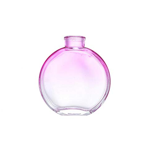 1 botella de difusor de cristal recargable vacía de 150 ml para aromaterapia accesorios para uso en frascos de fragancia de repuesto para manualidades aceites esenciales manualidades degradado morado
