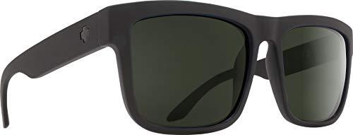 SPY Discord Gafas de sol SOSI Negro Mate - HD Plus Gris Verde Polarizadas
