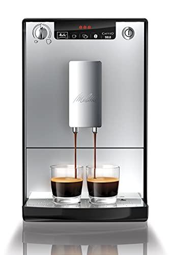 Melitta E950-103 Automatyczny Ekspres do Kawy, Tworzywo Sztuczne, 1400 W, 1,2 L, Srebrny