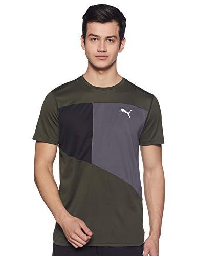 PUMA Herren Ignite S/S Tee T-Shirt, Forest Night-Iron Gate, S