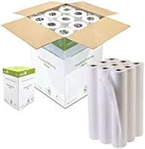 "IDEAL 365 Northwood White 20"" Couch Roll Hygiene Roll - 40 Metres (9)"