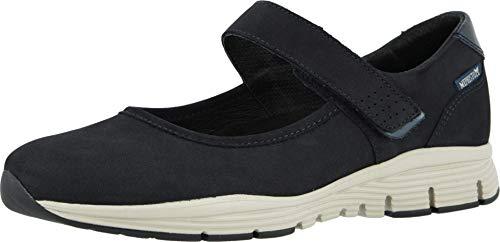 Mephisto Women's Yelina Mary Jane Sneakers Blue 8.5 M US