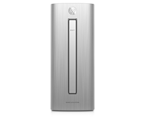 HP Envy (750-104ng) Desktop-PC (Intel Core i7-6700, 12 GB RAM, 128 GB SSD, 1 TB HDD, NVIDIA GeForce GTX 960, Win 10) silber