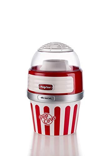 Ariete Popcorn XL Máquina de Palomitas Party Time Big Popper, Rojo y Blanco