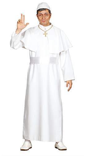 Fiestas Guirca Costume Papa Adulte Tunique Blanche Taille Unique