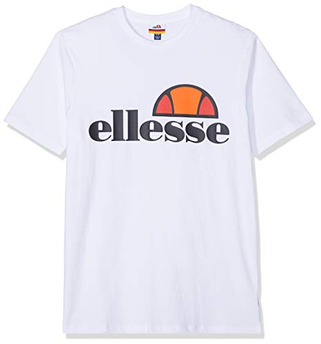 Ellesse Prado Camiseta, Hombre, Blanco (Optic Whit), L