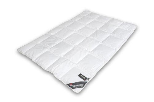Thinsulate Bettdecke, Baumwolle, Weiß, 155 x 220 cm