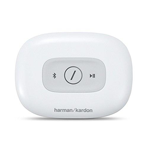 Harman/Kardon Omni Adapt Wireless Drahtloser WiFi HD-Audioadapter mit Bluetooth und Firecast Technologie für Multikanal/Multigerät Surroundsound Streaming - Weiß