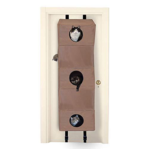 K&H Pet Products Hangin' Cat Condo cat trees that hang on a door