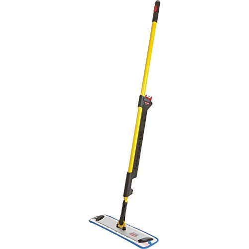 Rubbermaid Commercial 1835528 Pulse Microfiber Floor Cleaning System, Handle with Single-Sided Mop Frame,