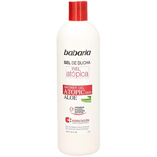 BABARIA gel de ducha atopic bote 600 ml