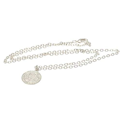 Leicester City F.C. Silver Plated Pendant & Chain Official Merchandise by Leicester City F.C.