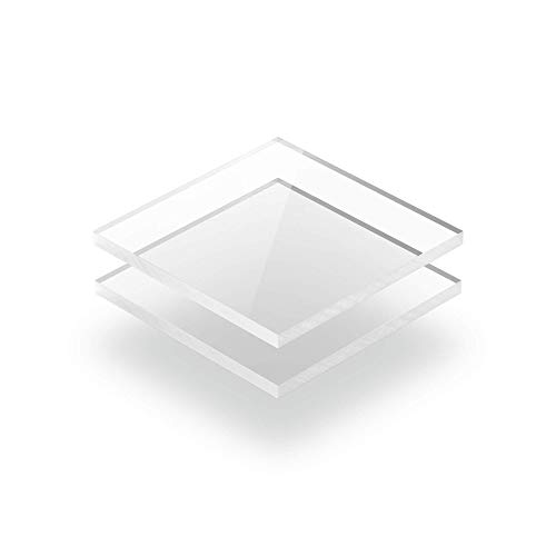Kunststoffplattenonline.de - Plexiglasscheibe - XT plexiglas platten - 4mm dick - Transparent - 50 x 30 cm