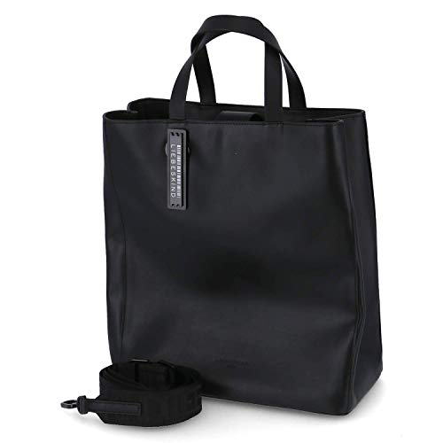 Liebeskind Berlin Handtasche, Paper Bag Tote, Medium, black