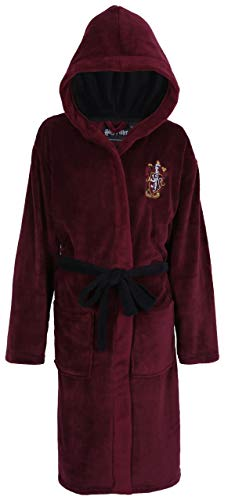 Harry Potter Poudlard Gryffondor Peignoir Bordeau pour Hommes Small/Medium
