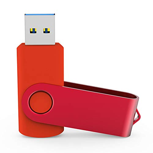 KOOTION USB-Sticks 8GB 5 Stück Speichersticks 8G Set Memory Stick 5 STK USB 2.0 5er Pack Flash-Laufwerke USB Flash Drives Datenspeicher Stick Metall Bunt, Mehrfarbig(Schwarz, Blau, Rot, Grün, Lila)