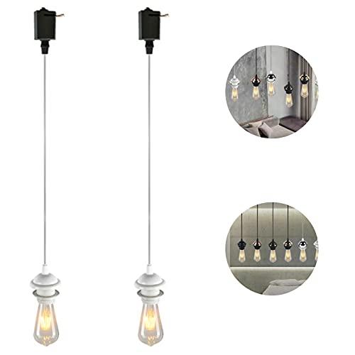 HLigExp - Lámpara de techo de estilo moderno, simple y creativo, 2 unidades
