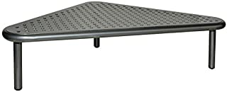 XtremPro Metal Corner Monitor Stand Easy Assemble, Space Saving for Computer PC Monitor, Laptop, TV, 19.75 in x 11.5 in x 4.75 in - Grey (22003)