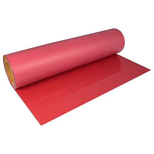 Stahls® 16,56€/m² CAD-CUT® SportsFilm Flexfolie 200 Red 50cm x 1m Bügelfolie Flex Folie