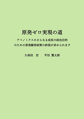 The way for realizing no nuclear power station society (Japanese Edition)