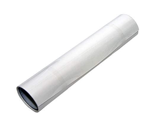 M2 1 Rolle Polyesterfolie Reparaturpflaster für Surf Segel Surfsegel Monofilm Segel - 1 Rolle Monofilmtape transparent 500 x 150mm – selbstklebend, 75µ transparent
