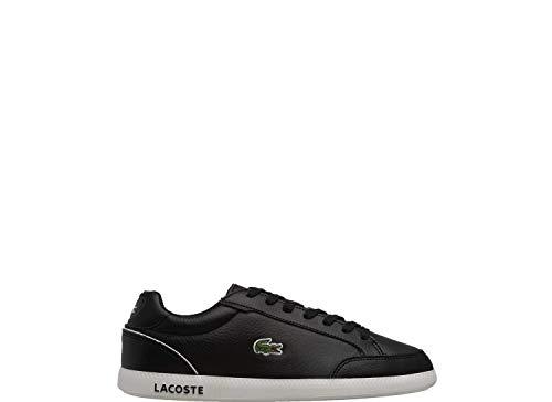 Lacoste Damen Low-Top Sneaker Graduate Cap 0721 1 SFA, Frauen Halbschuhe,schnürschuhe,schnürer,straßenschuhe,Schwarz (BLK/WHT),39 EU / 5.5 UK