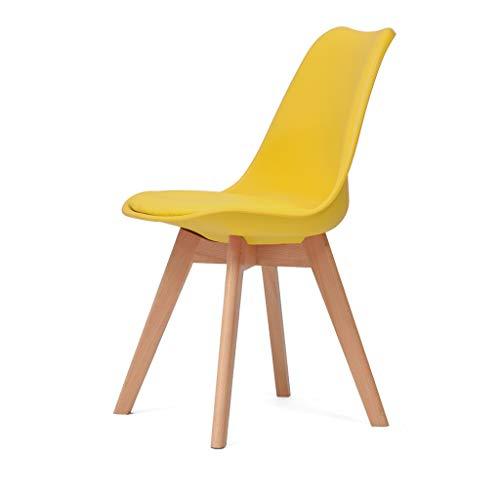 PLL Office creatief massief houten boek eettafel stoel eenvoudige moderne rug thuis eetkamerstoel comfortabele rugleuning kruk