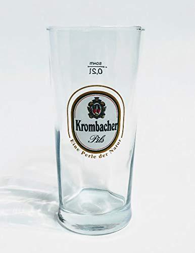Krombacher 0,2l Glas/Bierglas/Gläser/Bier/Biergläser/Pils/Gastro/Bar