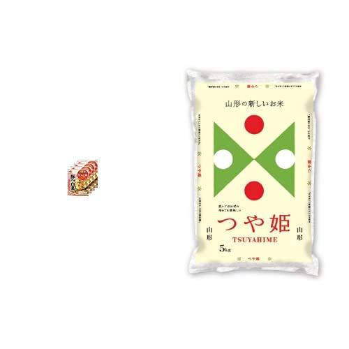 味の素 Cook Do きょうの大皿 豚バラ白菜用 110g×4個 +  【精米】山形県産 白米 つや姫 5kg 令和元年産
