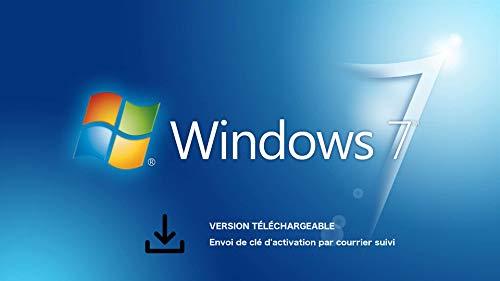 Microsoft Windows 7 Professionnel 32-bit/64-bit 1 utilisateur | Livraison éco-responsable [Certificat de licence expédié par lettre suivie - Sans support DVD]