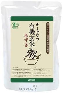 オーサワの有機玄米あずき粥 200g×3個           JAN:4932828005928