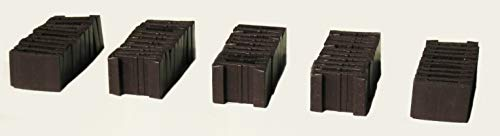 ½ Inch Magnetic Counter Clips (50 Clips) for SPI, Avalon Hill, Europa, and GDW Wargames, Sci-fi Board Games, and Fantasy Board Games from Orisek Industries and Shield Laminating