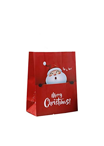 Tianneng La Bolsa De Regalo De Papel Kraft De Navidad, La Bolsa De Dulces para Bocadillos De La Fiesta De Navidad