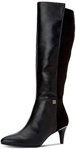 Alfani Womens Hakuu Faux Leather Pointed Toe Knee-High Boots