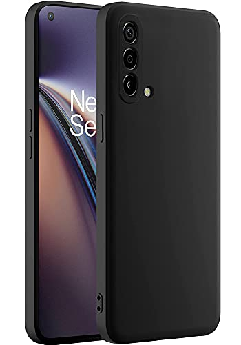 Amozo Back Cover For One Plus Nord CE/One Plus Nord CE 5G ( Silicone Black )