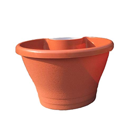Bloempotten Plantenpot Opknoping Hek Planters Potten Plastic Potten Indoor Opknoping Plant Holder Indoor Opknoping Plantenbakken red,l