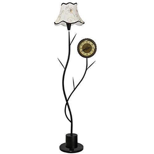 Jixi staande lamp voor woonkamer, eenvoudig, modern, vloer, dimbaar, bedlampje, staande lamp