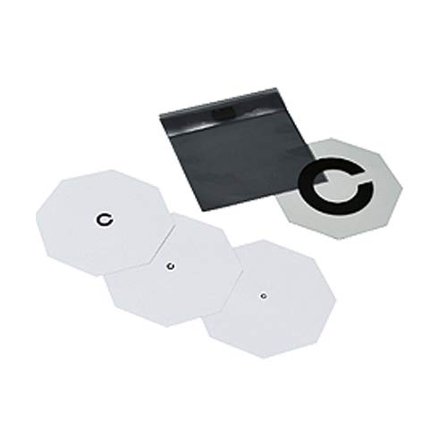 視力表 カード式 回答表示板付 3枚組 ランドルト環表示 収納ケース入
