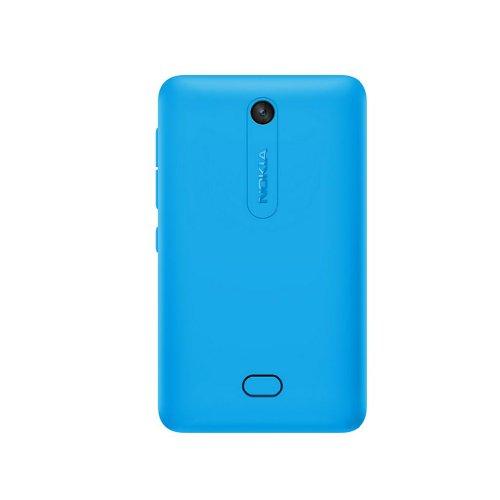 Copri batteria di ricambio ORIGINALE NOKIA Back Cover di colore BLU CIANO per Nokia Asha 501 disponibile in bulk senza confezione