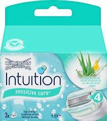Wilkinson Sword intuition Sensitive Care Rasierklingen/Ersatzklingen 9st (3x3) (9)