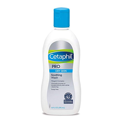 CetCetaphil PRO Dry Skin Soothing Wash 10-ounce Body Wash (Pack of 2)