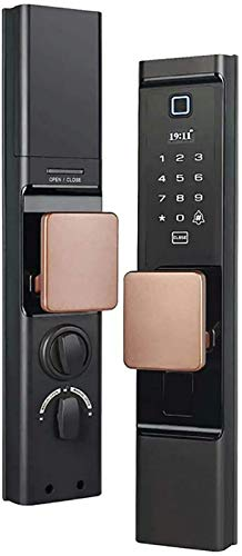 Digitales Fingerabdruck-Türschloss Automatisches Passwort Fingerabdruck-Schloss Ic-Karte Fernbedienung Smart Lock Diebstahlsicheres Türschloss