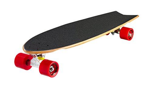 Ridge Skateboards Natural Range, Skateboard Unisex – Adulto, Marrone, 28 Pollici