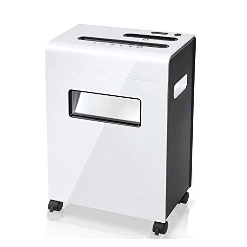 Fantastic Deal! SMLZV Electric Office Low Noise Dual Inlet Shredder,8-Page Cross-Cut Paper and Credi...