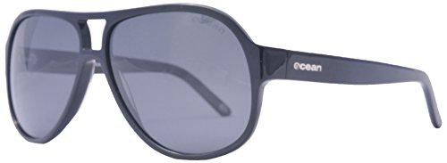Ocean Sunglasses - Donostia - lunettes de soleil polarisées - Monture : Marron - Verres : Fumée (19800.0)