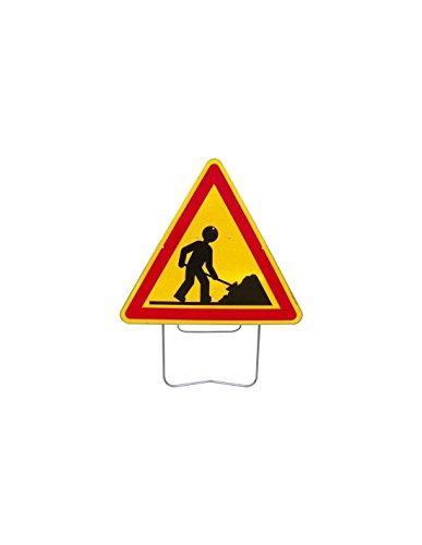Nadia- Panneau de signalisation de danger AK5 Travaux - AK51000SUPPORT - Caracterisation du danger,presence_support,taille_tanneau_en_mm -