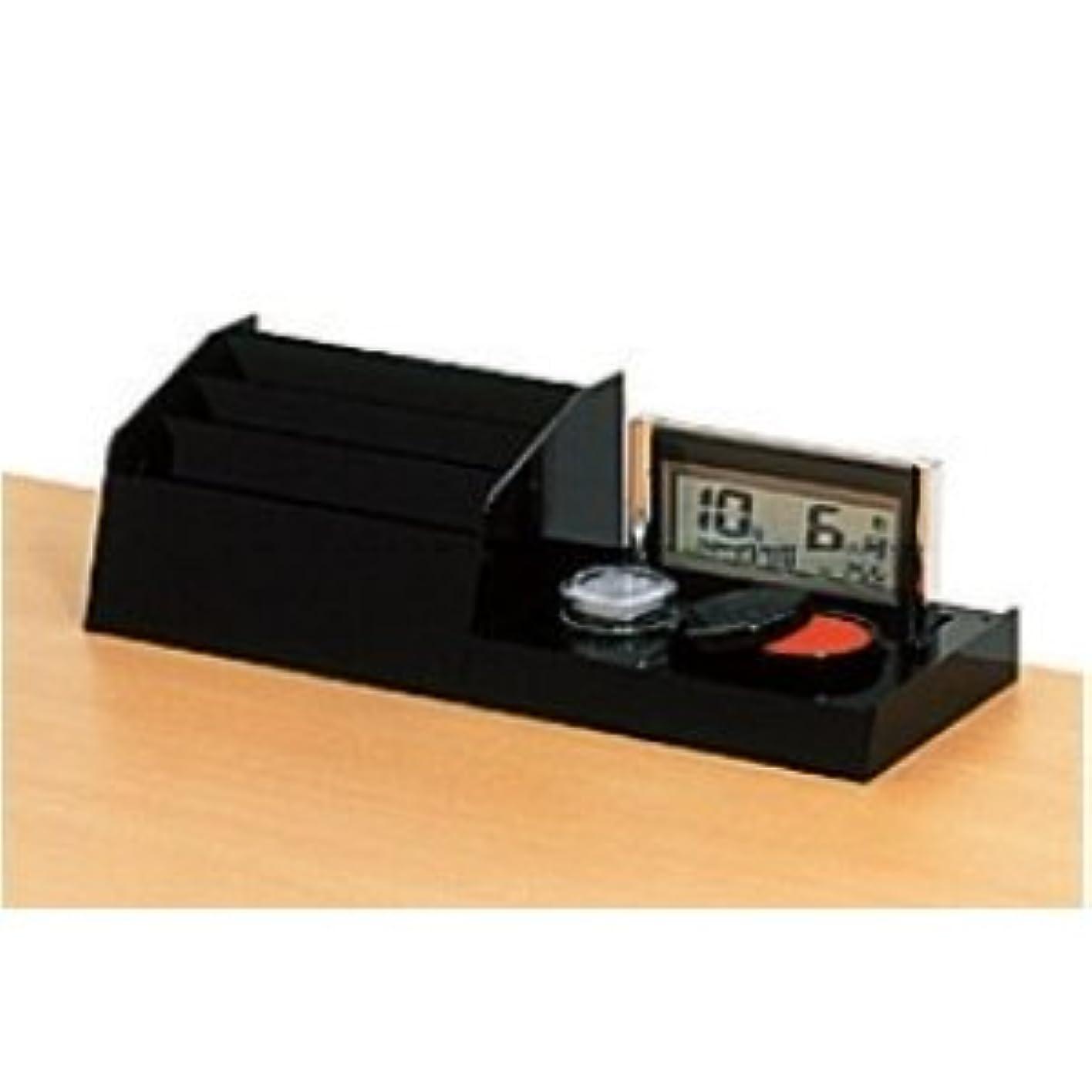 許可する振幅と記載台 デジタルカレンダー付伝票ケース (W428×D150×H120mm) KD KDO-DC