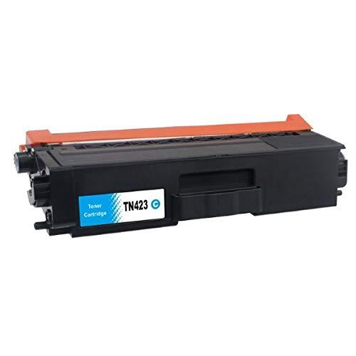MediaHolland® compatible toner TN-423 / TN-421 Cyaan